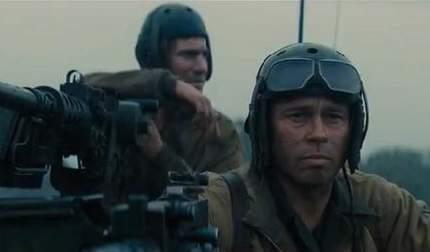 Brad Pitt protagoniza Fury