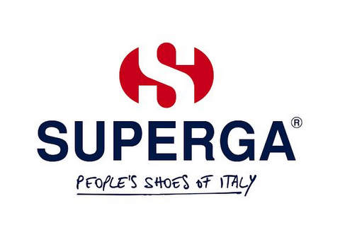 Logo zapatillas superga