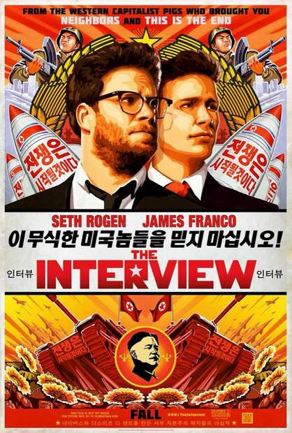 Póster de The Interview