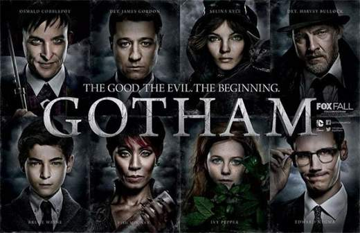 Cartel de la serie Gotham