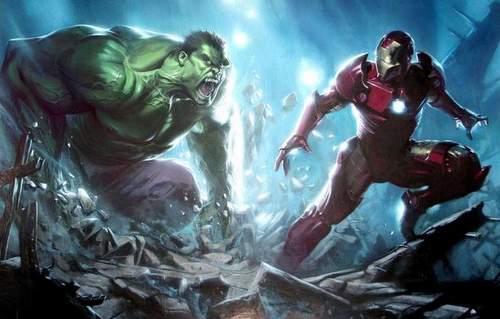 Lucha Iron Man y Hulk en Los Vengadores 2