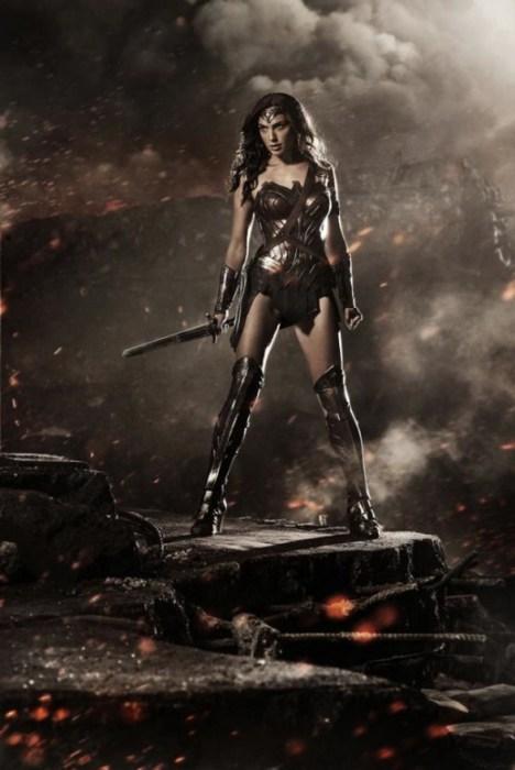 Primer Póster crítica de Wonder Woman