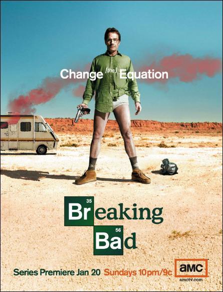 Póster serie Breaking Bad