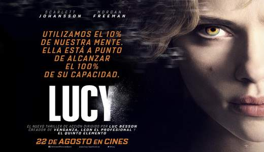 Cartel concurso Lucy, Scarlett Johansson