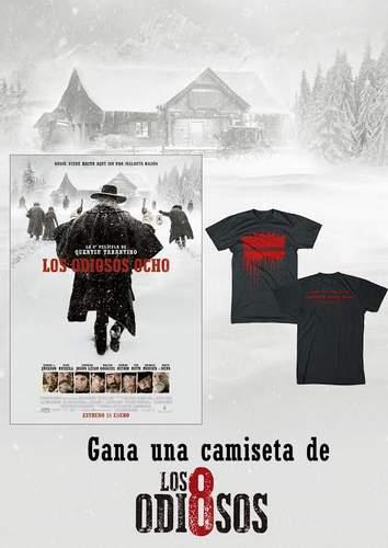 Sorteamos 5 camisetas de la película