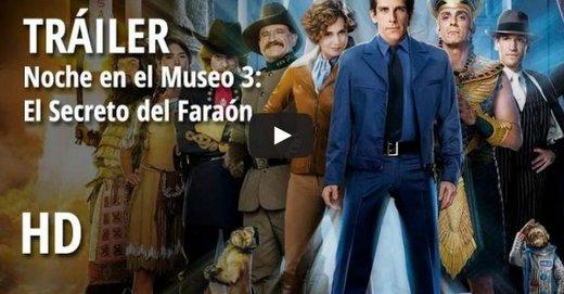 Trailer español de Noche en el museo 3