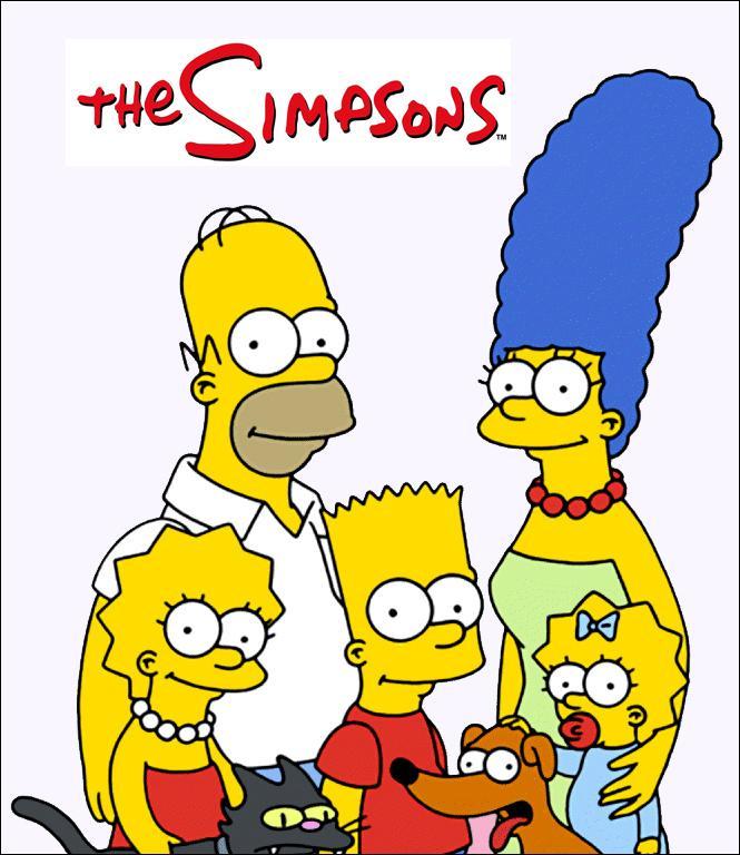 """Póster de Los Simpson. Secuela de """"Los Simpson"""""""
