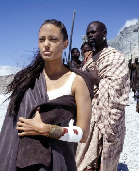 Angelina Jolie rodaje África
