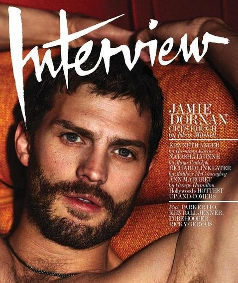 Jamie Dornan portada revista Interview