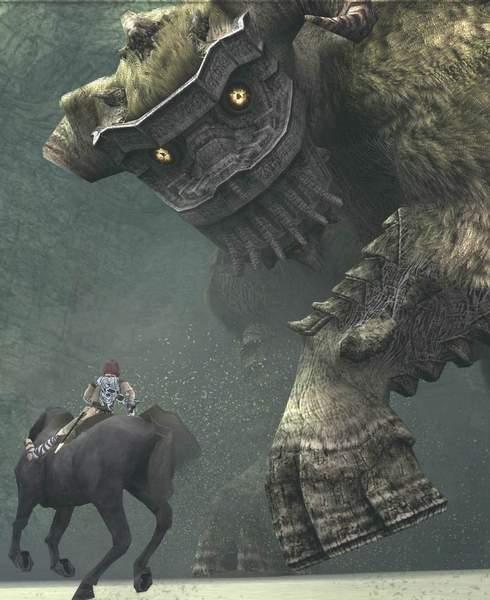 Imagen de videojuego Shadow of the colossus
