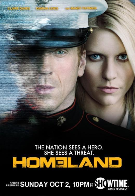 Póster de la serie Homeland