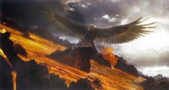 Las águilas si estarán en el Hobbit: La batalla de loc cinco ejércitos