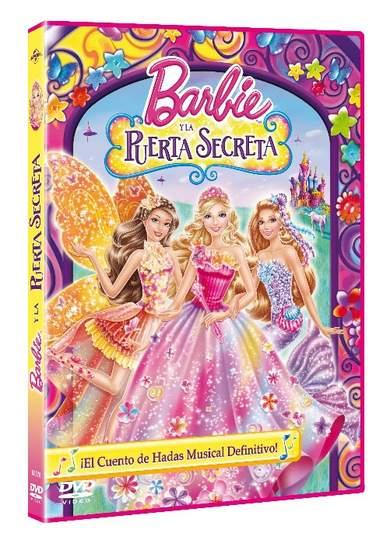 Carátula Barbie y la puerta secreta