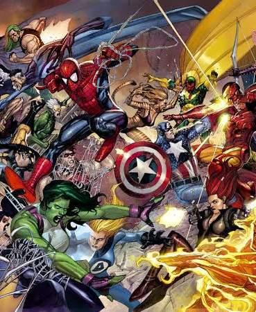 Iron Man en Capitán América 3