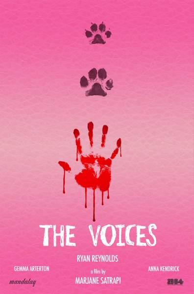 Póster de The Voices