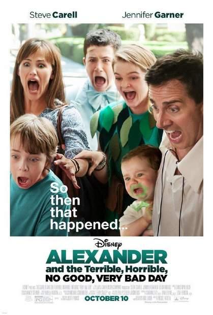 Crítica de Alexander y el día penoso