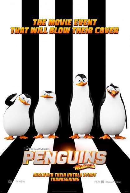 Póster de Los Pingüinos de Madagascar
