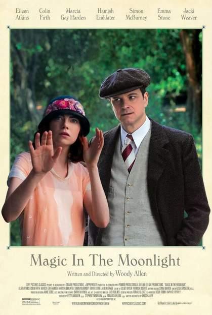 Póster de Magia a la luz de la luna