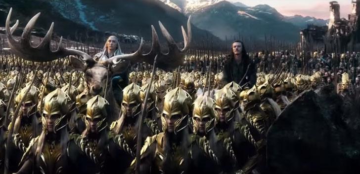 Imagen de El Hobbit: la batalla de los cinco ejércitos