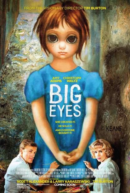 Póster de Big Eyes
