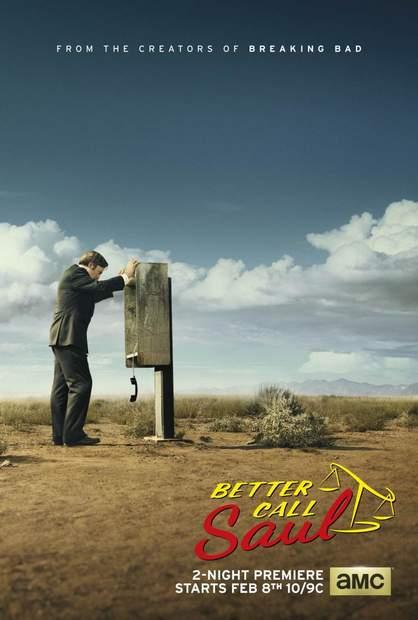 Póster de Better call Saul (2015) spin-off de breaking Bad