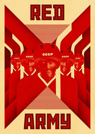 Póster de Red Army