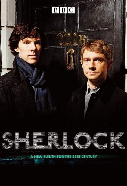 Póster de la serie Sherlock