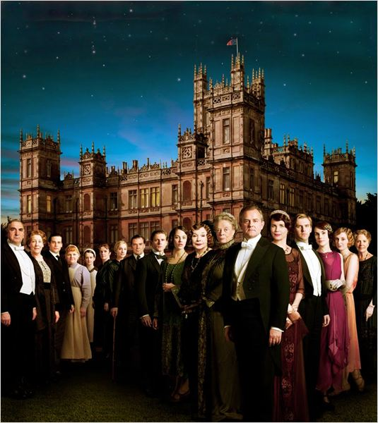 Cartel de la serie Downton Abbey