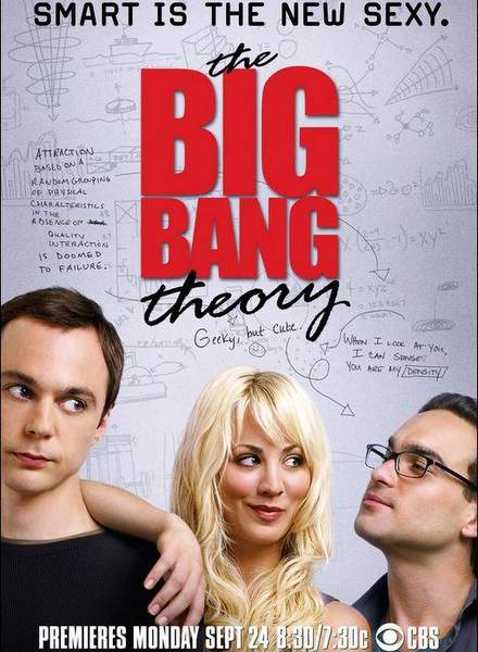 Póster de la serie The Big Bang Theory