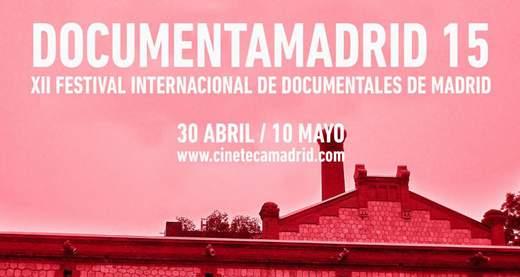 Cartel DocumentaMadrid 2015