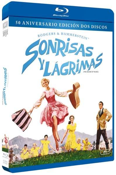 Carátula Blu-ray de Sonrisas y lágrimas