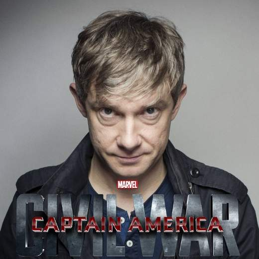 Martin Freeman se une a Capitán América: Civil War