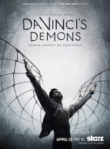 Póster de la serie Da Vinci Demon's