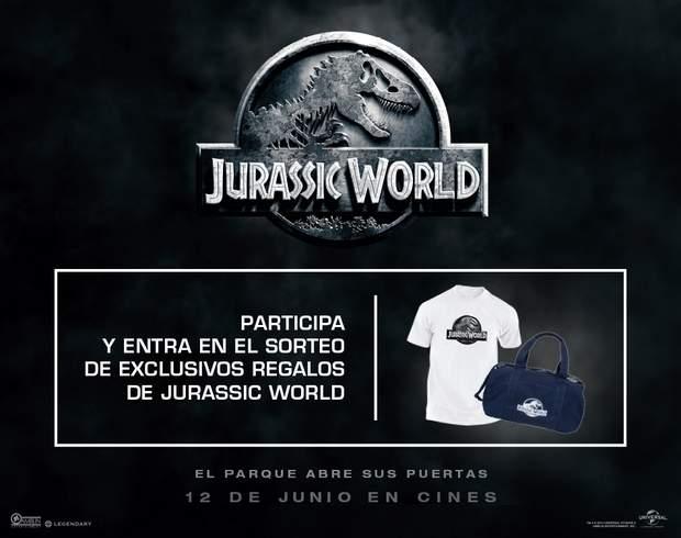 Concurso pack de regalos de Jurassic World