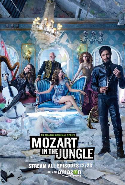 Póster de Mozart in the jungle