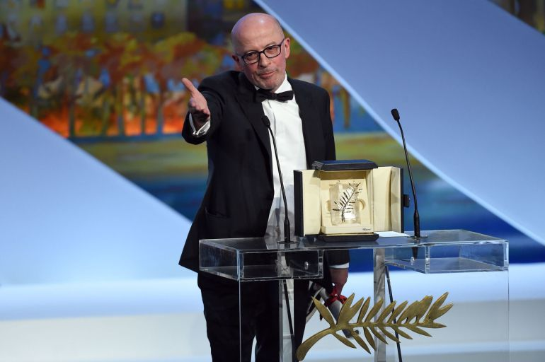 Palmarés del Festival de Cannes 2015. Palma de Oro para Dheepen