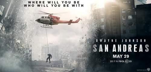 Cartel crítica de San Andrés
