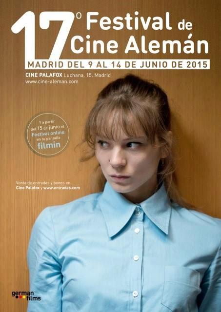 Póster de la 17 edición del Festival de cine Alemán en Madrid