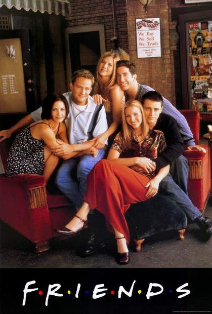 Póster de la serie Friends