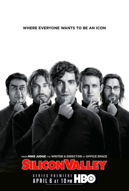 Póster de Silicon Valley