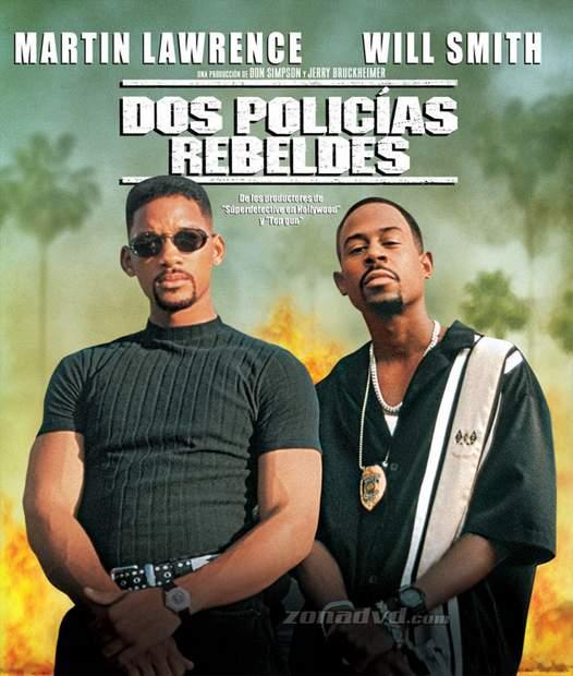 Actores poster Dos policías rebeldes 3