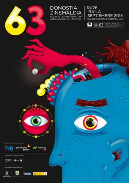 Cartel del 63 Festival de cine de San Sebastián