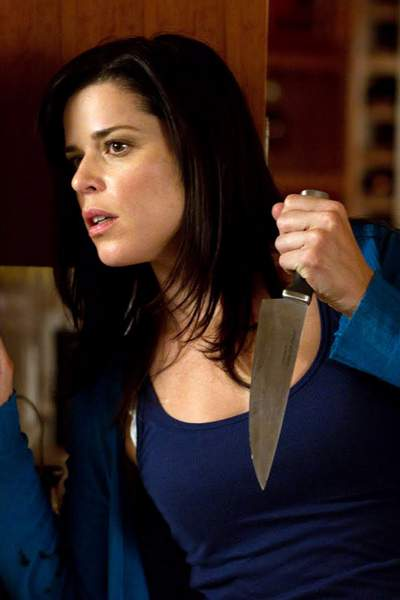 Neve Campbell en la saga Scream