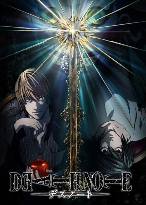 Póster de la serie Death Note. Película acción real de Death Note