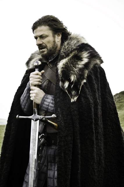 Ned Stark en Juego de Tronos
