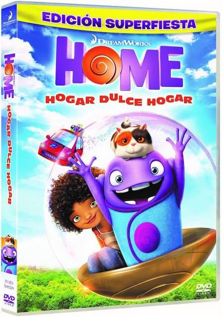 Home, hogar dulce hogar ya en DVD, Blu-ray y Blu-ray 3D