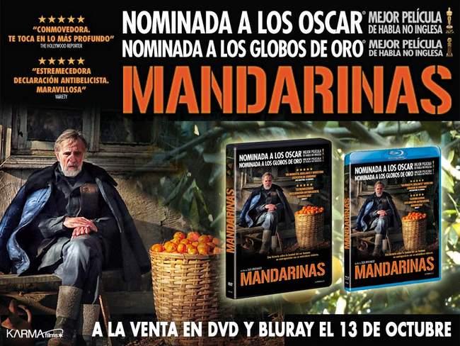 Mandarinas ya a la venta en Blu-ray y DVD