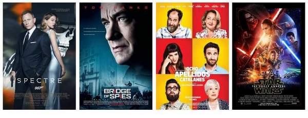 Especial Cuatro grandes películas final 2015