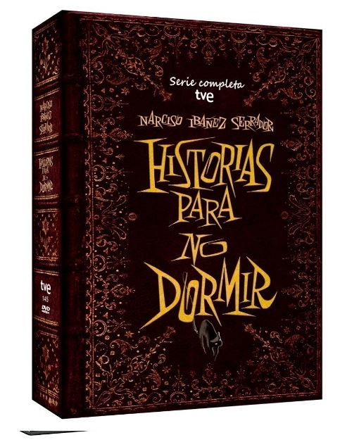 Pack Historias para no dormir en DVD