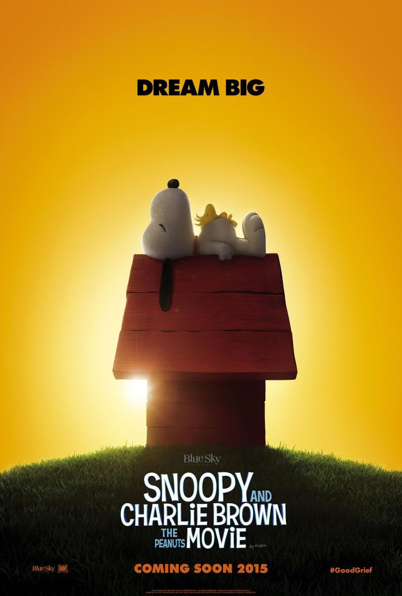 Póster d Carlitos y Snoopy: La película de Peanuts